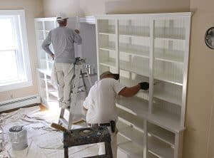 Hiring a paint contractor