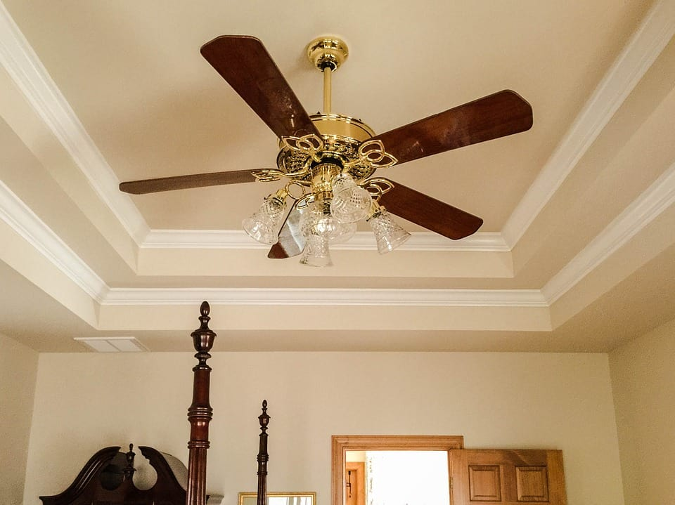 Neatly done crown moldings enhance any room!